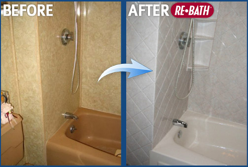 Before And After Bathroom Remodeling Photos Nebraska Bathroom - Re bath bathroom remodeling