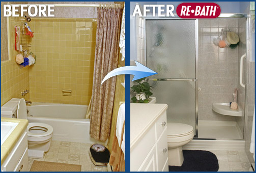 Before and after bathroom remodeling photos nebraska for Bathroom renovation before and after
