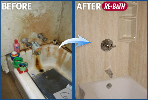 Before And After Bathroom Remodeling Photos Nebraska Bathroom - Bathroom remodel before and after pics